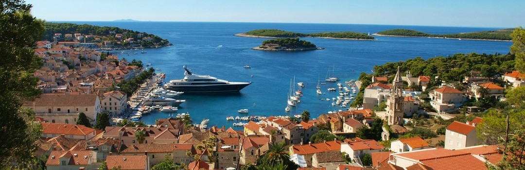 Croatia Coast Cruise ship