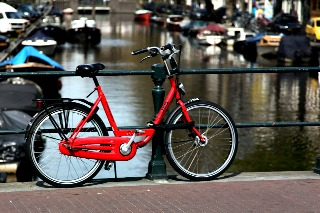 Bicycle-Amsterdam-Holland