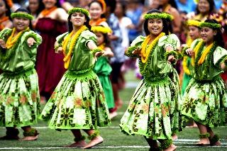 Hawaiian Hula Dancers-Honululu-Oahu-Hawaii