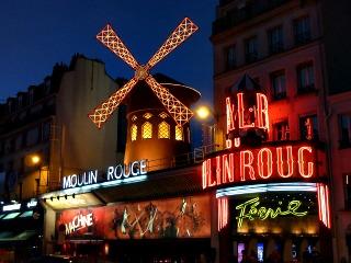 Moulin Rouge-Paris-France