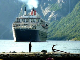 Queen Mary 2- Cruise Ship